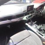 2017 Audi S5 Sportback blue dashboard left side view