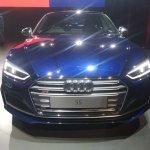 2017 Audi S5 Sportback blue front