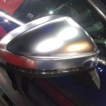 2017 Audi S5 Sportback blue mirror