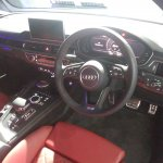 2017 Audi S5 Sportback dashboard right side view
