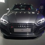 2017 Audi S5 Sportback front elevated view