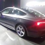 2017 Audi S5 Sportback rear three quarters left side