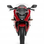 2017 Honda CBR650F Red front
