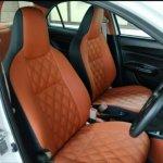 2017 Maruti Dzire custom front seats