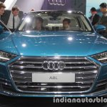 2018 Audi A8 L front at 2017 Tokyo Motor Show