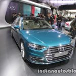 2018 Audi A8 L front three quarters right side at 2017 Tokyo Motor Show