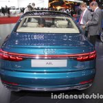 2018 Audi A8 L rear at 2017 Tokyo Motor Show