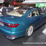 2018 Audi A8 L rear three quarters right side at 2017 Tokyo Motor Show