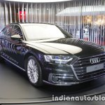 2018 Audi A8 front three quarters right side at 2017 Tokyo Motor Show
