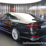 2018 Audi A8 rear three quarters left side at 2017 Tokyo Motor Show