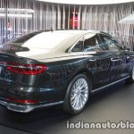 2018 Audi A8 rear three quarters right side at 2017 Tokyo Motor Show
