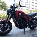 2018 Benelli Leoncino launched left side
