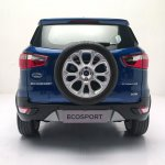 2018 Ford EcoSport facelift India-spec rear