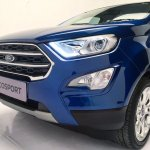 2018 Ford EcoSport facelift nose