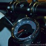 2018 Harley Davidson Fat Bob dial