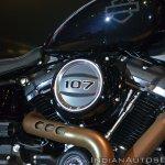 2018 Harley Davidson Fat Bob engine