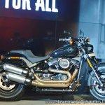 2018 Harley Davidson Fat Bob side view