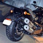 2018 Harley Davidson Fat Bob tail section