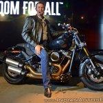 2018 Harley Davidson Fat Bob with Peter Mckinzie