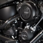 2018 Harley Davidson Street Bob press engine
