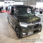 2018 Honda N-Box Custom front three quarters at 2017 Tokyo Motor Show