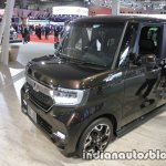 2018 Honda N-Box Custom front three quarters left side at 2017 Tokyo Motor Show