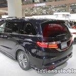 2018 Honda Odyssey (facelift) rear three quarters left at the Tokyo Motor Show