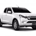 2018 Isuzu D-Max 2-door Spacecab (facelift) front three quarters
