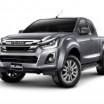 2018 Isuzu D-Max V-Cross (facelift) front three quarters left side