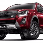 2018 Isuzu D-Max (facelift) front three quarters