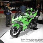 2018 Kawasaki Ninja 250 front three quarters at 2017 Tokyo Motor Show