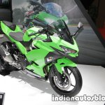 2018 Kawasaki Ninja 250 front three quarters right side at 2017 Tokyo Motor Show