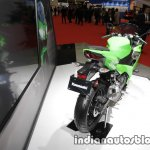 2018 Kawasaki Ninja 250 rear three quarters right side at 2017 Tokyo Motor Show