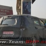 2018 Maruti Ertiga spotted in the city