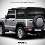 2018 Suzuki Jimny rear soft top Rendering