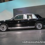2018 Toyota Century left side at 2017 Tokyo Motor Show