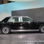 2018 Toyota Century profile at 2017 Tokyo Motor Show