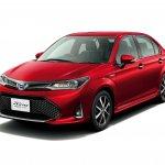2018 Toyota Corolla Axio WxB front three quarters