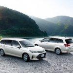 2018 Toyota Corolla Fielder exterior