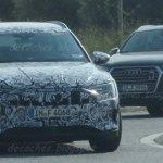 Audi e-tron SUV front three quarters spy shot