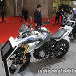 BMW G 310 GS front three quarters left side at 2017 Tokyo Motor Show