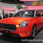 Daihatsu DN Compagno concept front three quarters at the 2017 Tokyo Motor Show