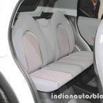 Daihatsu DN Trec Concept rear seats at 2017 Tokyo Motor Show