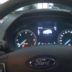 Ford EcoSport facelift spy pictures instrument console