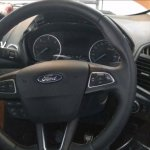 Ford EcoSport facelift spy pictures steering wheel