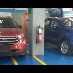 Ford EcoSport facelift undisguised spy pictures