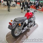 Honda CB1100 EX rear three quarters right at the 2017 Tokyo Motor Show