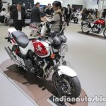 Honda CB400 Super Four front three quarters right side at 2017 Tokyo Motor Show
