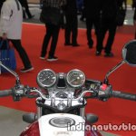 Honda CB400 Super Four instrument cluster and handlebar at 2017 Tokyo Motor Show