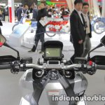 Honda CRF 250 Rally dashboard display at Tokyo Motor Show